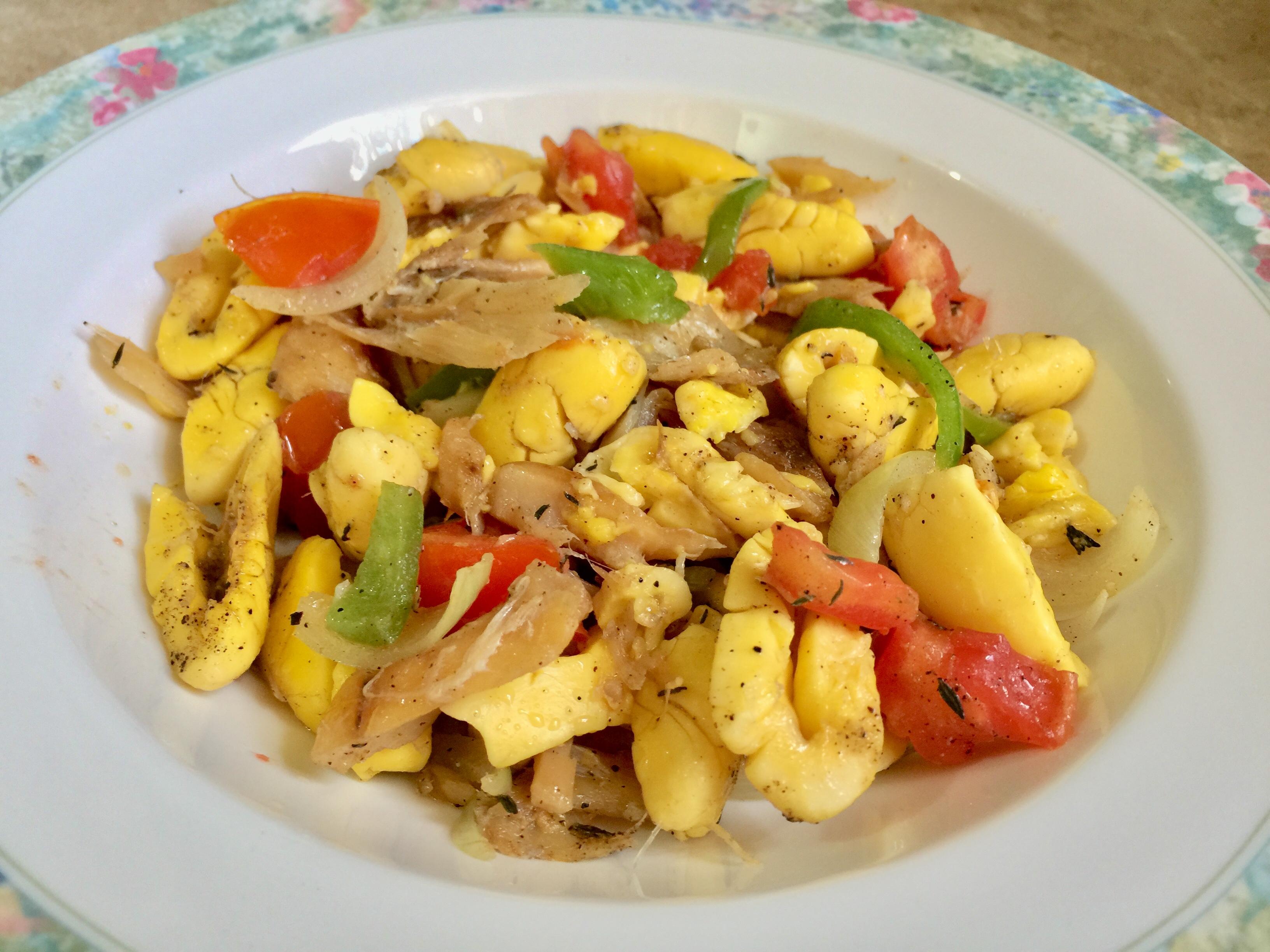 Ackee & Saltfish - Chinese-Jamaicangirl.com